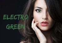 Electro Green Contacts - 1 Day